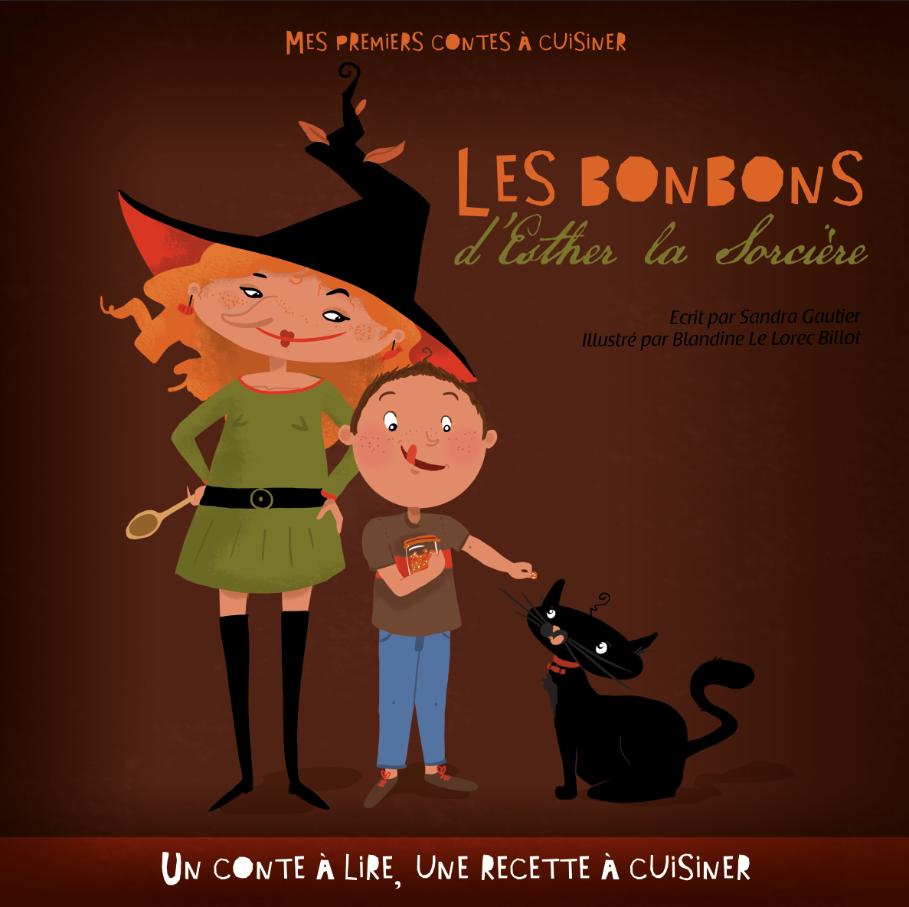 Sehr Conte pour Halloween - Livre les Bonbons d'Esther la Sorcière PG94